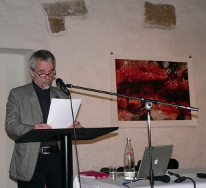 Kestutis Vasiliunas give the lecture