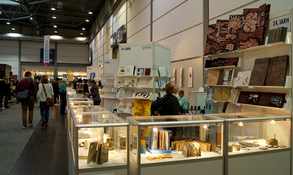 7th International Artist's Book Triennial Vilnius 2015 is Closed