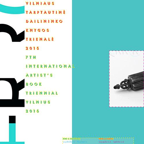 7th Artist's Book Triennial Vilnius 2015
